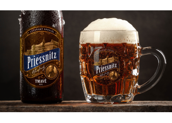 Lázeňské pivo Priessnitz tmavé