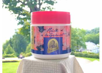 Koupelová jodo-bromová sůl Růže & Bergamot